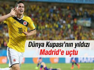 James Rodriguez Real Madridde